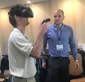 Demonstration of CATIA Virtual Reality System