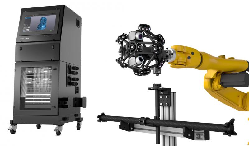 MetraSCAN 3D-R Automated 3D Inspection